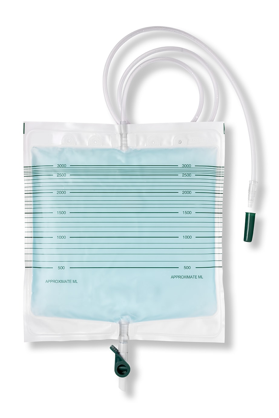 RF Welded PVC Urine Bag