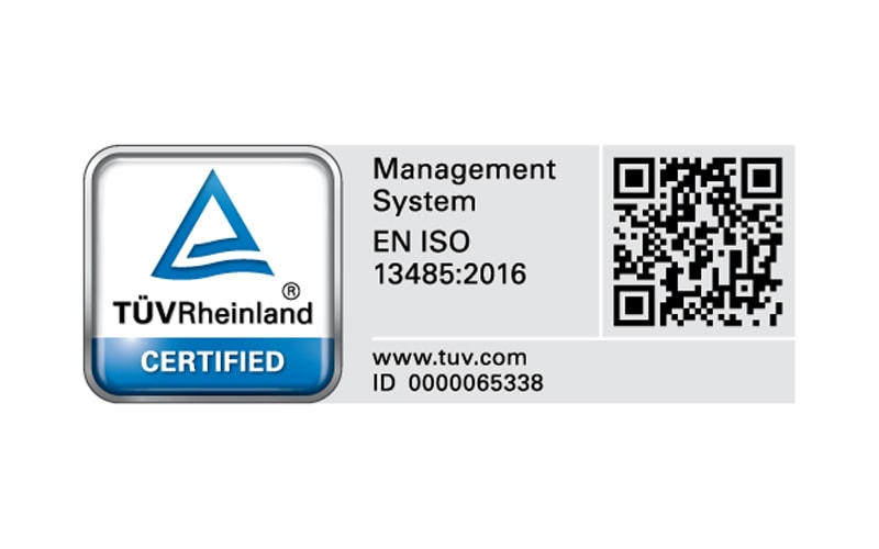 TUV Rheinland Certification